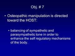 Describe why OMM is directed toward the host. What are we trying to do?