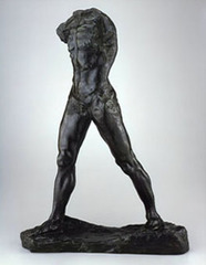 Ancient Greek sculptors sometimes created cast sculptures from ________, an alloy of copper and tin.