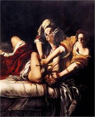 Artemisia Gentileschi Judith Slaying Holofernes Baroque