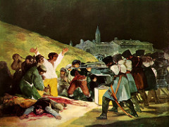 Goya  The Third of May 1808 Romanticism
