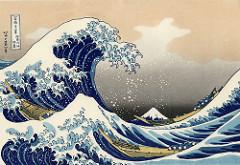 Hokusai  The Great Wave  Ukiyo-e