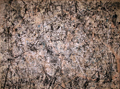 Jackson Pollock is known for: