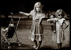 Sally Mann's 1989 photograph The New Mothers was made ________.