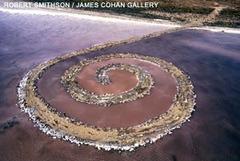 Spiral Jetty, Robert Smithson