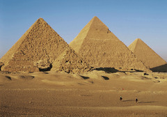 The Great Pyramid of Khufu is an example of sophisticated engineering and ________ construction.