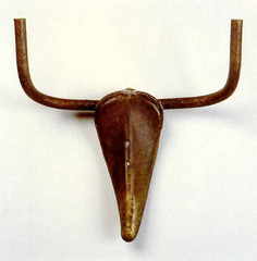 This Spanish artist combined a bicycle seat and handlebars into a form that was reminiscent of a bull's head.